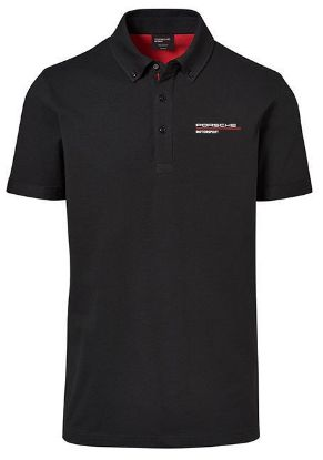 Picture of Polo, Motorsports Fanwear, Men's, Black