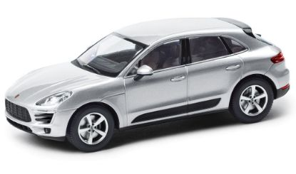 Picture of Macan,2018, Silver, 1/43 Model