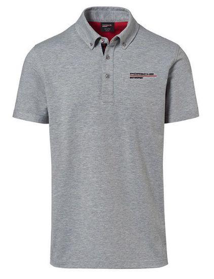 Picture of Polo Shirt, Grey, Motorsport Fanwear, Men, Medium