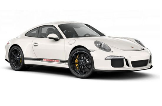 Picture of Side Stripe Kit 'Porsche' (Red) 991 2012-2019