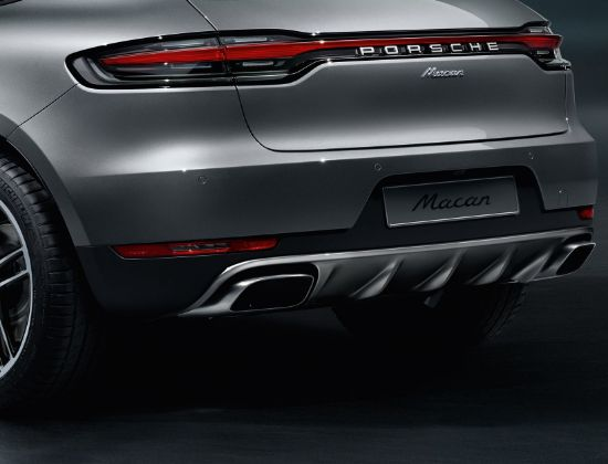 Picture of Stainless-Steel Rear Trim - Macan
