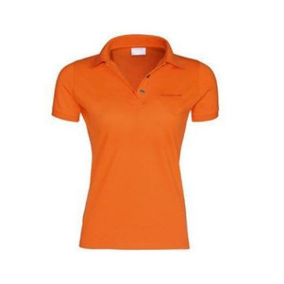 Picture of Polo Shirt, Classic, Orange, Ladies