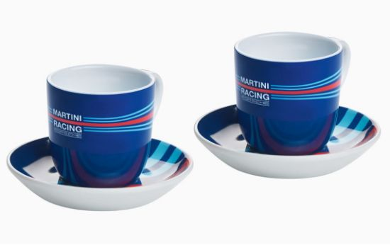 Picture of Espresso Cup Set of 2, MARTINI RACING, Collector's No. 2