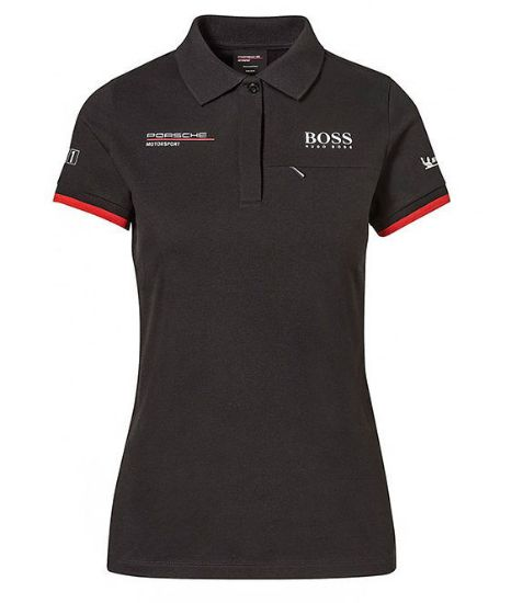 Picture of Polo Shirt, Motorsport Replica, Black, Women