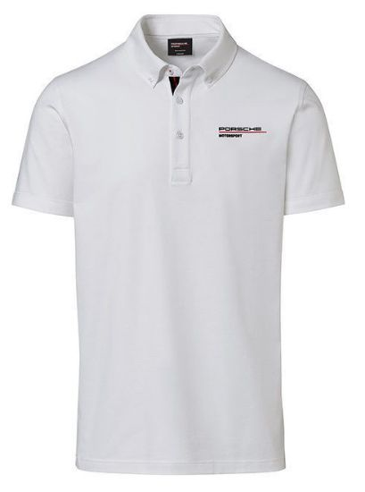 Picture of Polo Shirt, Motorsport Fanwear, Men, White