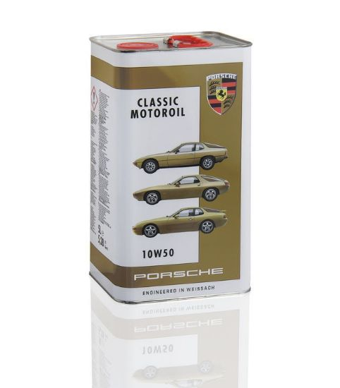 Picture of Motor Oil 10W-50, 5 litres, Classic Tin