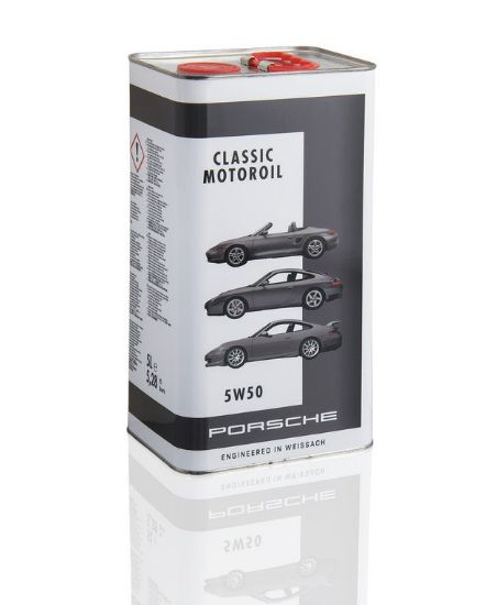 Picture of Motor Oil 5W-50, 5 litres, Classic Tin