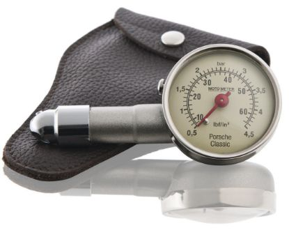 Picture of Tyre Pressure Gauge with Leather Case, Classic