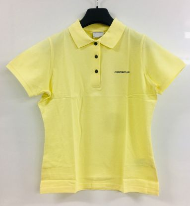 Picture of Ladies Classic Polo Shirt Yellow, Large