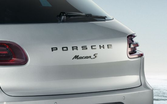 Picture of Badge Kit, High-Gloss Black, Macan S, 2014-2018