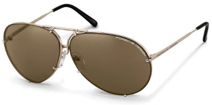 Picture of Sunglasses, Men's Aviator P'8478 Light Gold