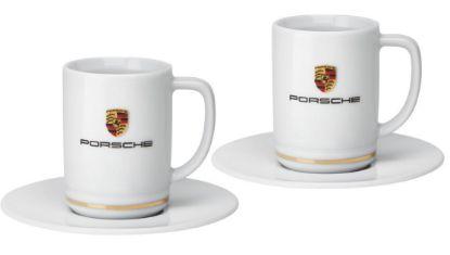 Picture of Espresso Set, Porsche Crest, Piston Design