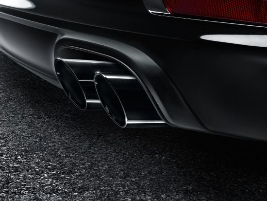 Picture of Sports Tailpipes Set, Black, 991.2  2017-2019