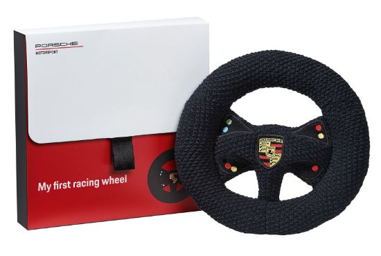 Picture of Knitted Steering Wheel with Rattle – Motorsport