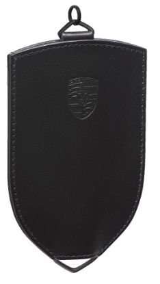 Picture of Key Pouch, Classic, Leather, Black