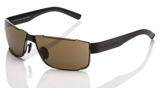 Picture of Sunglasses, Men's, P'8509 Black Matt/Brown