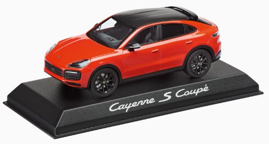 Picture of Model Cayenne Coupé S 1:43 Lava Orange