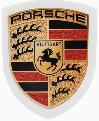Picture of Sticker, Porsche Crest 50x67mm