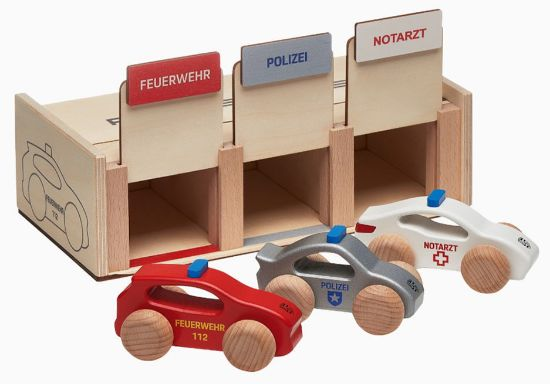 Picture of Wooden Emergency Vehicle Set