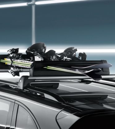 Picture of Roof Ski/Snowboard Holder, Pull-out
