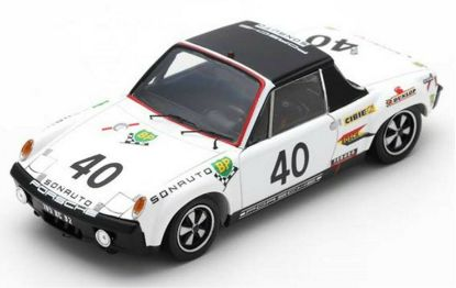 Picture of 914/6 GT White, #40, Le Mans 1970, 1/43 Model