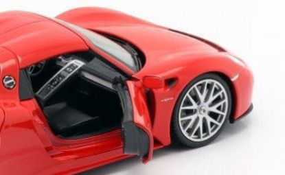 Picture of 918 Spyder, Red, 1/24 Model