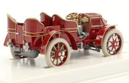 Picture of Lohner-Porsche Mixte 1901 Red-Brown, 1/43 Model