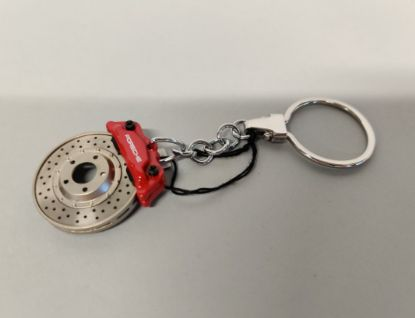 Picture of Keyring Brake Disc, Red