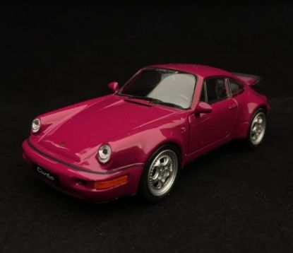 Picture of Pull-Back 911 Turbo (964) 1990 Toy, Raspberry