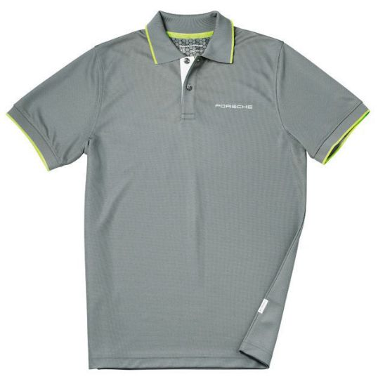 Picture of Polo Shirt, Sport, Grey, Mens XL