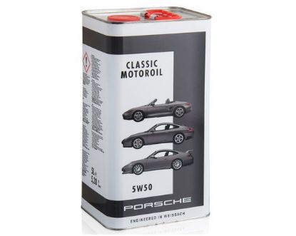 Picture of Motor Oil, Classic, 5W-50, 1Ltr Tin, 986/996