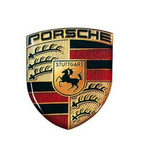 Picture of Sticker, 3D Porsche Crest, 25x33mm