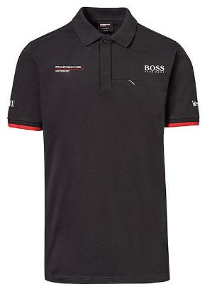 Picture of Polo Shirt, Motorsport, Black, Mens
