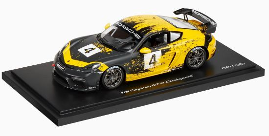 Picture of 718 Cayman GT4 Clubsport, 1/18