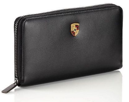 Picture of Wallet, Purse, Crest, Leather, Ladies