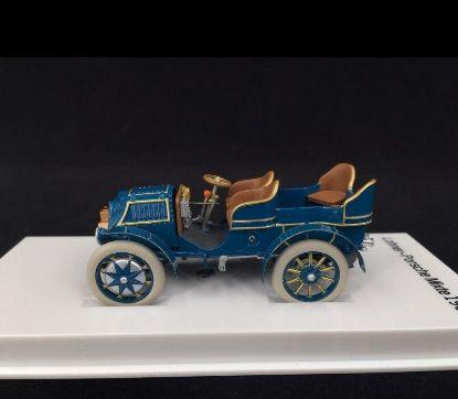 Picture of Lohner-Porsche Mixte 1901 Blue, 1/43 Model