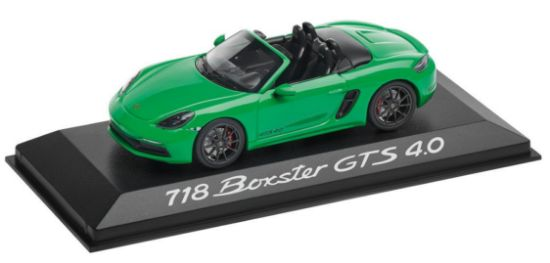 Picture of 718 Boxster GTS 4.0, 1:43 Model