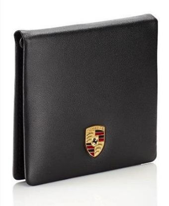 Picture of Wallet, Card Holder with Money Clip, Crest