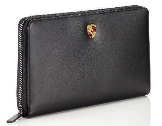 Picture of Wallet, Travel, Leather, Crest