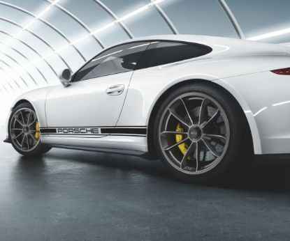 Picture of Wheel Set, 20-inch GT3, Platinum (Satin Gloss), 991 GT3 & 991R